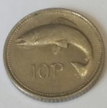Ірландія 10 пенсів, 2000