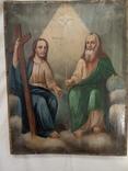 Икона Троица, фото №13
