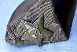 Пилотка ВС СССР, 56 размер, 1984г, клеймо, защитная звезда (2), фото №12
