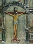 Икона Господа Иисуса Христа со святыми, XIX век, позолота, посеребрение, эмали, фото №4