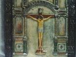 Икона Господа Иисуса Христа со святыми, XIX век, позолота, посеребрение, эмали, фото №6