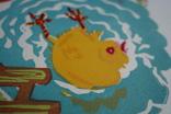 Лінорит Цыплёнок 39,5 на 29,5 см., фото №5