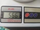 Бронзовый кран Рыбка. Вес 566гр, фото №13
