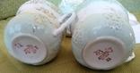 3 чайные пары чашки и блюдца Дулево 1960 год, фото №5