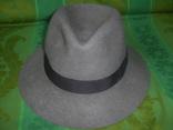 Шляпа фетровая тм Wegener р.57, фото №3