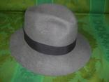 Шляпа фетровая тм Wegener р.57, фото №4