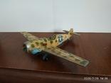 Мессершмитт dinky toys messerschmitt bf109e, фото №3