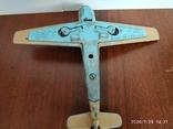 Мессершмитт dinky toys messerschmitt bf109e, фото №6