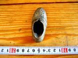 Старовинна бронзова попільничка, фото №4