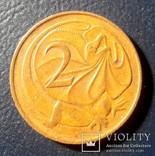 Австралия 2 цента 1966, фото №2