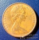 Австралия 2 цента 1966, фото №3