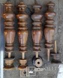 Ноги стола старовинні, Н47+10 см, Ф12,5 см, фото №2