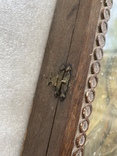 Икона Вседержитель в бронзовом окладе, серебрение, золочение, фото №4