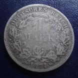 1 марка 1874 D Германия серебро (Г.9.41), фото №3