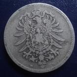 1 марка 1874 D Германия серебро (Г.9.41), фото №4