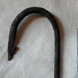 Рыболовный кованный крючок , 15 см., фото №12