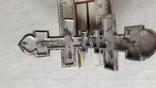 Крест мощевик , серебро, фото №10