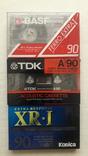 Аудио кассеты новые ТDK , BASF , Konika, фото №2