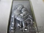 Икона Мадонна с ребенком. Италия. рама., фото №2