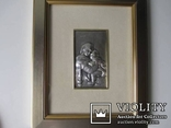 Икона Мадонна с ребенком. Италия. рама., фото №6