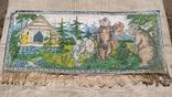 Ковёр настенный с бахромой, фото №2