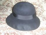 Шляпа женская шерсть тм Next Англия р.57, фото №2