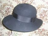 Шляпа женская шерсть тм Next Англия р.57, фото №5