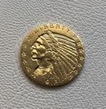 США 5 $ 1913 год золото 900', фото №2