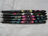Ручки деревянные с цветным орнаментом, 5 шт., фото №3
