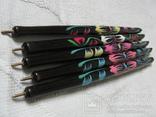Ручки деревянные с цветным орнаментом, 5 шт., фото №5