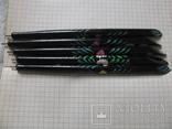 Ручки деревянные с цветным орнаментом, 5 шт., фото №7