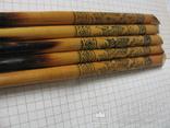 Ручки деревянные с Украинским орнаментом, 5 шт., фото №5