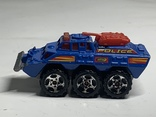 Matchbox Battering Ram 1993 6 Wheeled Vehicle, фото №3