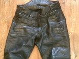 Защитные кожаные штаны, фото №5