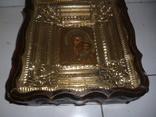 Икона Казанская Богородица 19 век. Жакко., фото №5