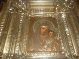 Икона Казанская Богородица 19 век. Жакко., фото №12