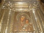 Икона Казанская Богородица 19 век. Жакко., фото №13
