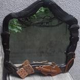 Зеркало настенное в керамической раме, фото №2