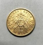 20 марок 1905 года. Бавария. aUNC., фото №2