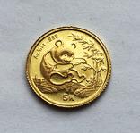 5 юаней 1994 года. Китай. Панда. 1/10 oz, фото №2