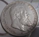 3 марки 1909г. (F), Вюртемберг, Пруссия, фото №2