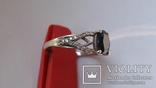 Кольцо Тропикана серебро, фото №2