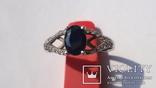 Кольцо Тропикана серебро, фото №6