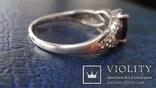 Кольцо Тропикана серебро, фото №8