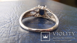 Кольцо Тропикана серебро, фото №9