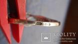 Кольцо Тропикана серебро, фото №10