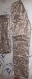 Камуфляжный плащовочный костюм новый!Размер XL, фото №5