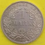 1 Марка 1908р. Срібло., фото №2