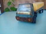 Давняя игрушка молоковоз под реставрацию. Производство ссср., фото №4
