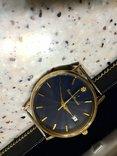 Швейцарские золотые часы Lucien piccard с бриллиантом, фото №8